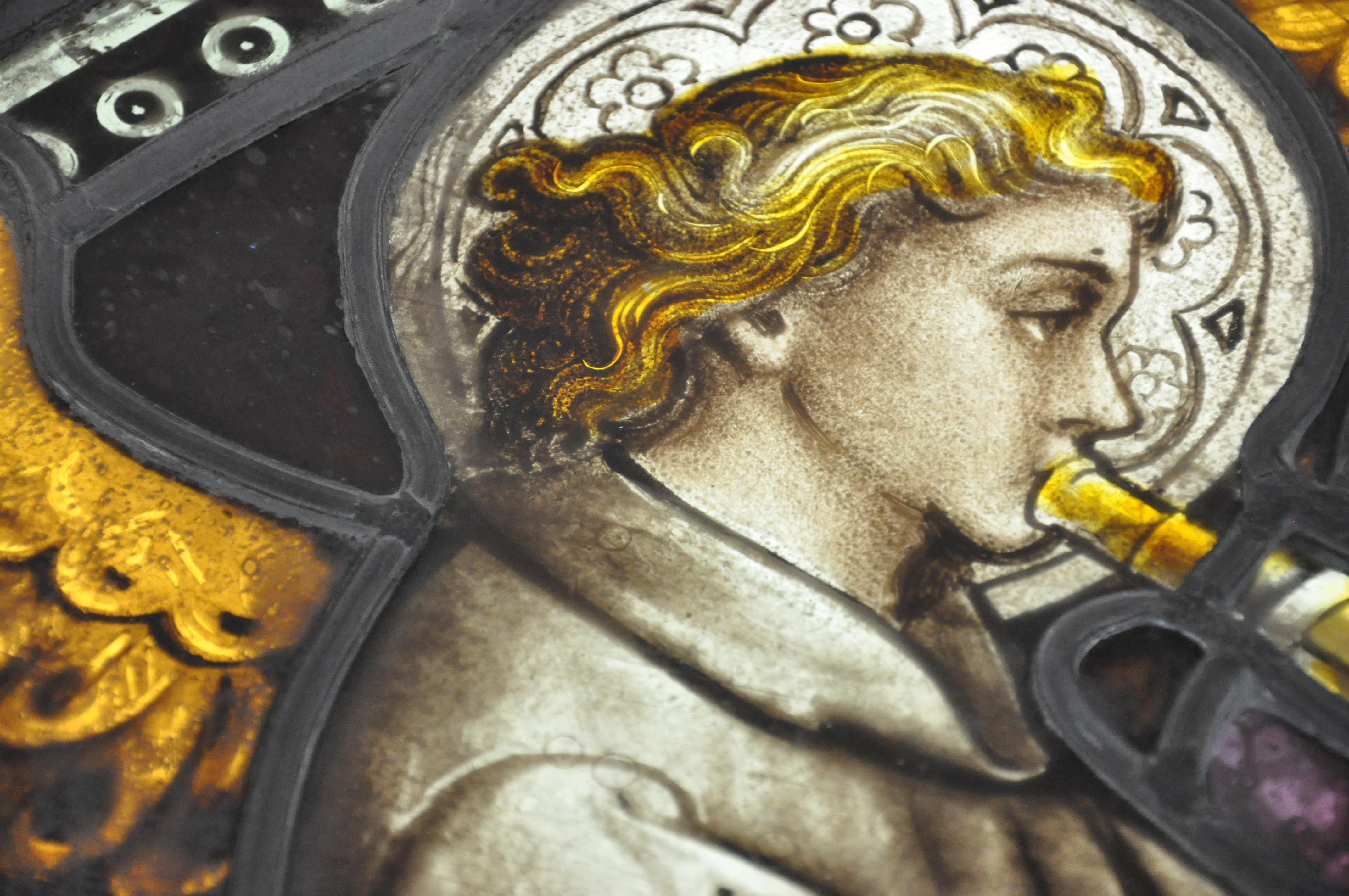 Work Progresses on St. Matthew's Stained Glass
